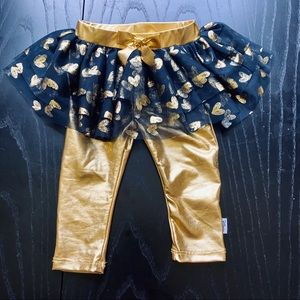 Disney Baby Heart Tutu with Leggings, 12 Months